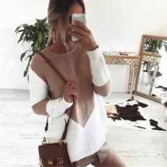 2018 autumn and winter explosion models sweater sweater women's new long-sleeved knit bottoming shirt  women